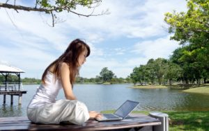 Study by the Lake